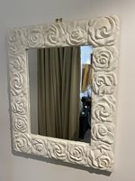 Decorative White Mirror
