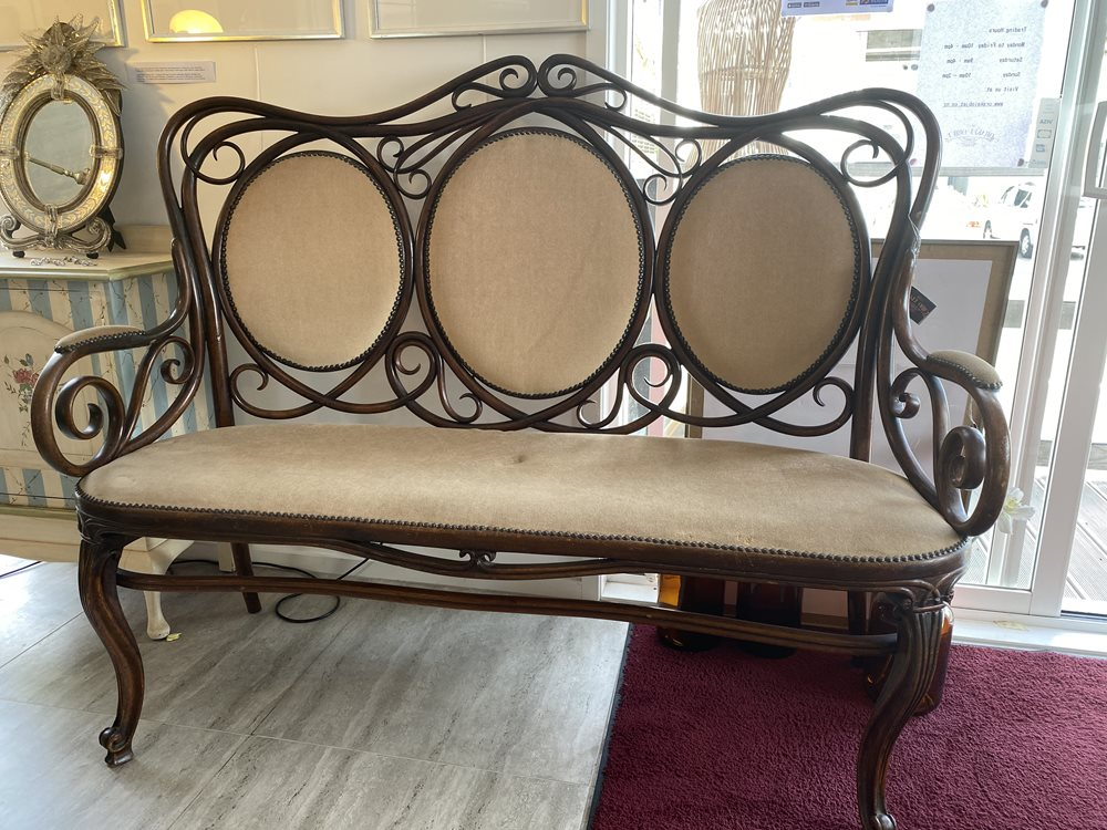Antique Bentwood Seat